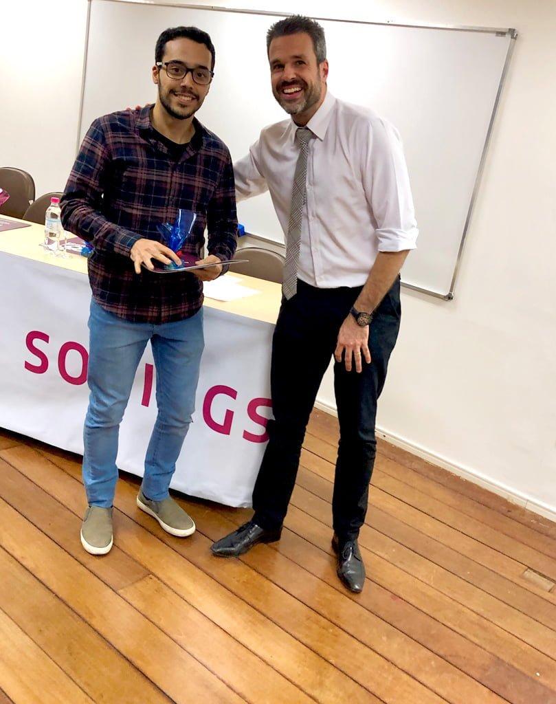 """Dr. Edson da Cunha Filho e Dr. Rodrigo Nunes Siqueira (Premiado """"Teguinho 2019"""")"""