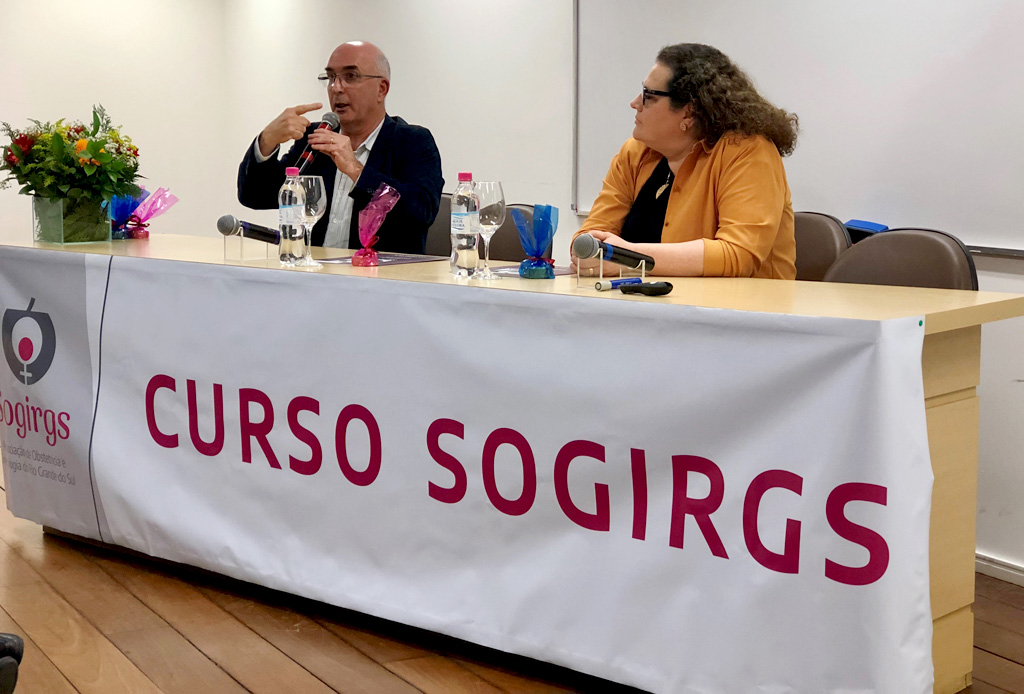 Dr. Sergio Martins Costa e Dra. Rosane Cristina Araujo Teixeira