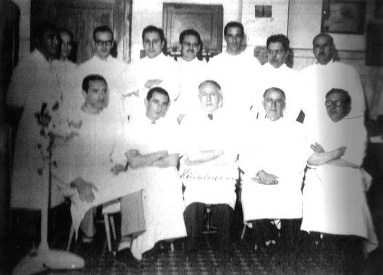 Visita do Prof. Hans Hinselmann a Porto Alegre, em novembro de 1951