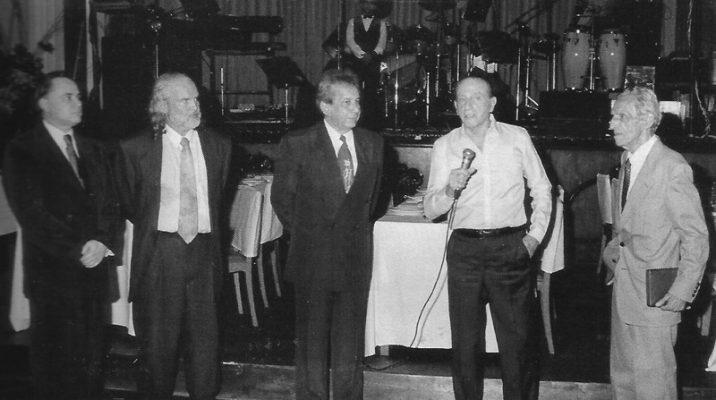 Bussâmara Neme falando ao receber a homenagem do Congresso