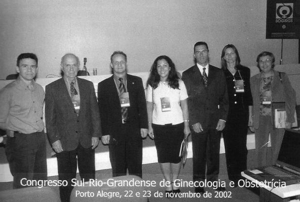 Palestrantes no Congresso Sul-Rio-Grandense de 2002