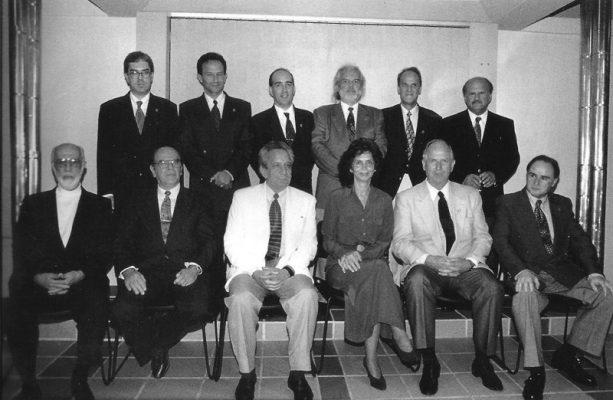 Rara foto de 12 ex-presidentes da Sogirgs